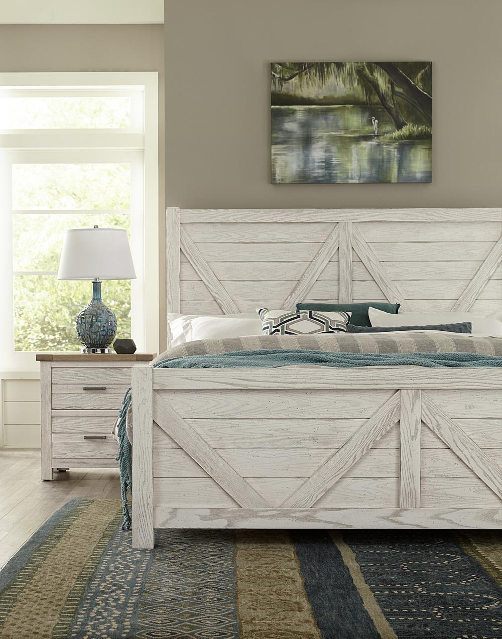 Vaughan Bassett - V Panel Bed