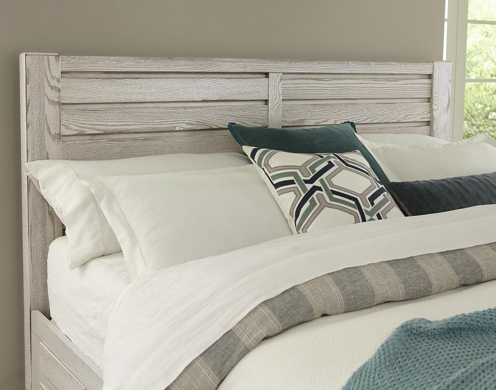 Vaughan Bassett - Horizontal Plank Bed 1 Side Storage Unit