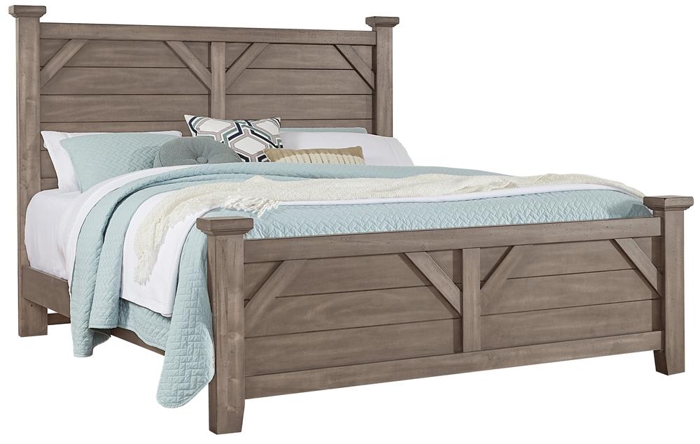 Vaughan Bassett - Plank Bed Plank Bed