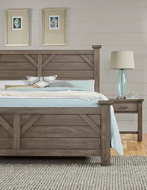 Thumbnail of Vaughan Bassett - Plank Bed Plank Bed