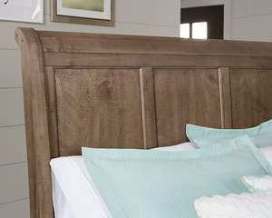 Thumbnail of Vaughan Bassett - Sleigh Bed With Bench Footboard