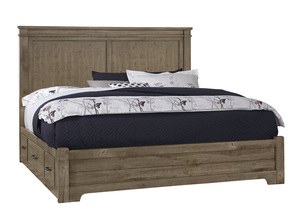 Thumbnail of Vaughan Bassett - Mansion Bed With 1 Side Storage