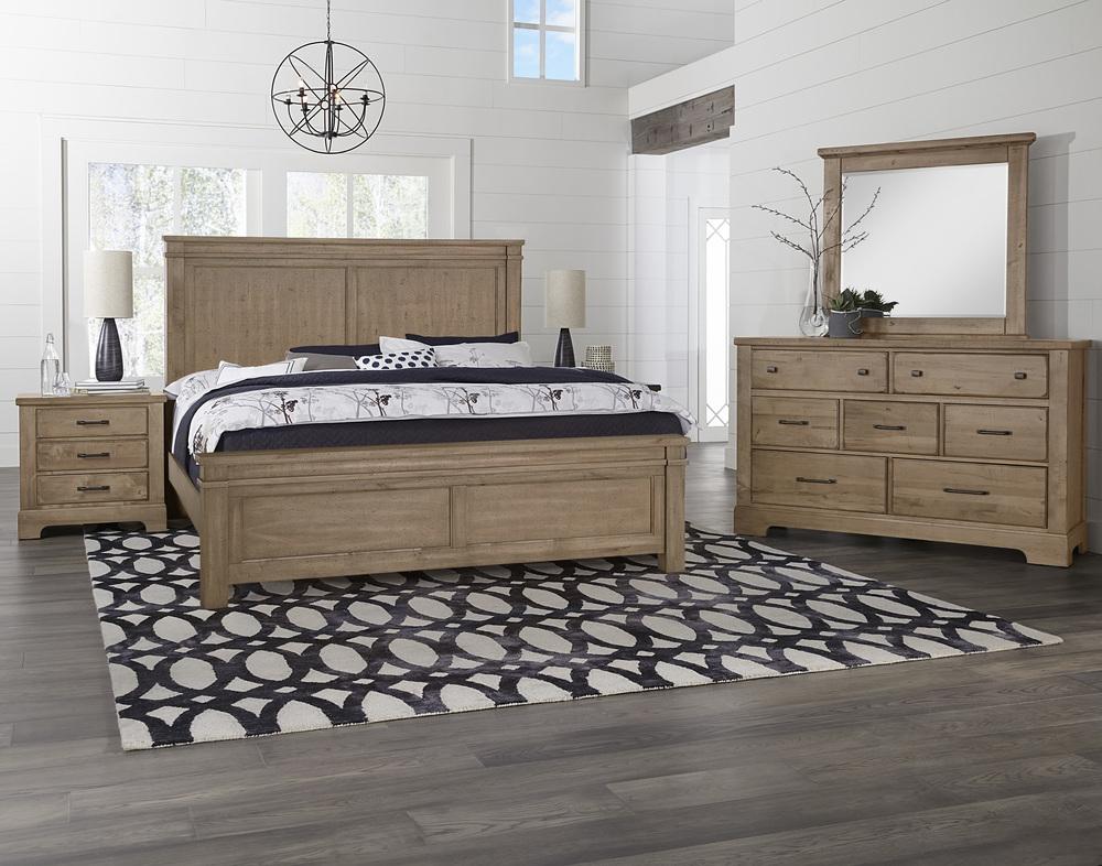 Vaughan Bassett - Mansion Bed With Platform Base