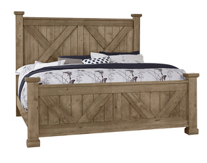 Thumbnail of Vaughan Bassett - X Bed With X Footboard