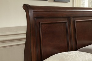 Thumbnail of Vaughan Bassett - Sleigh Storage Bed