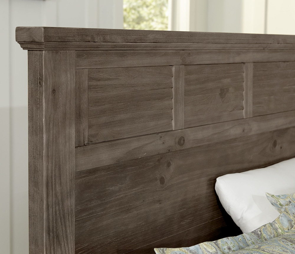 Vaughan Bassett - Louver Storage Bed