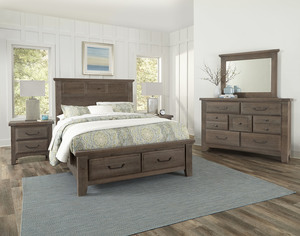 Thumbnail of Vaughan Bassett - Louver Storage Bed