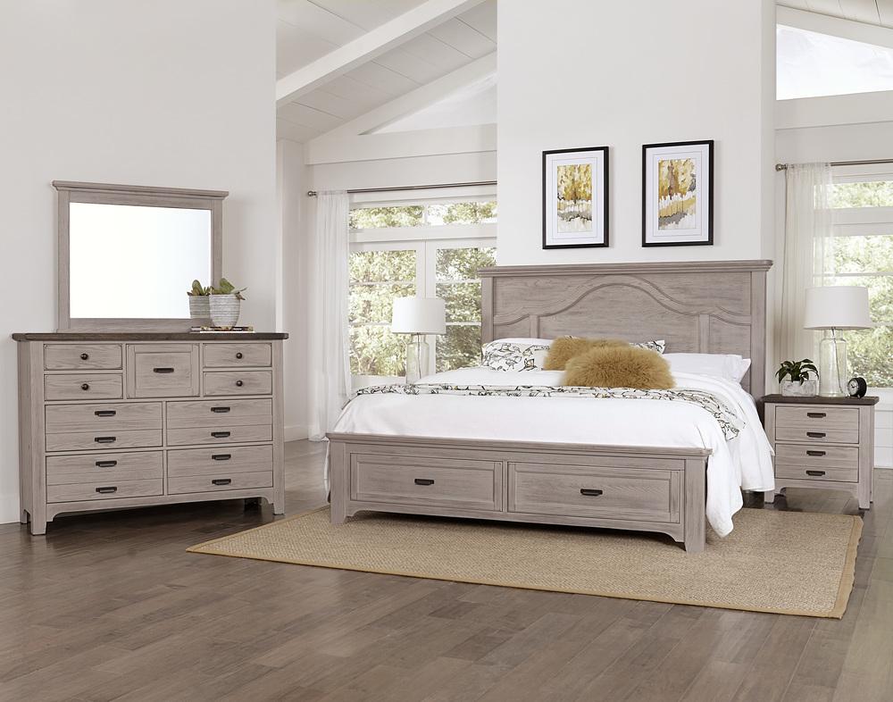 Vaughan Bassett - Mantel Storage Bed