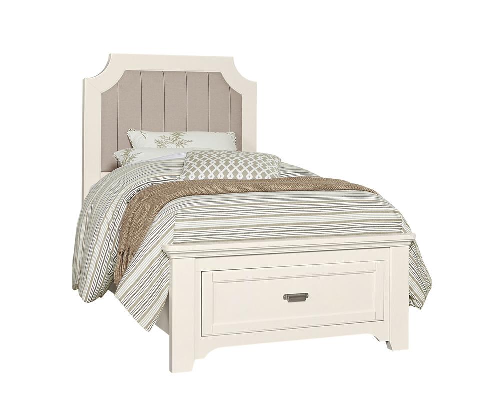 Vaughan Bassett - Upholstered Storage Bed