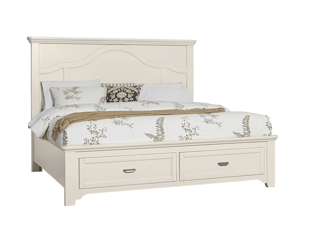 Vaughan Bassett - Mantel Storage Bed