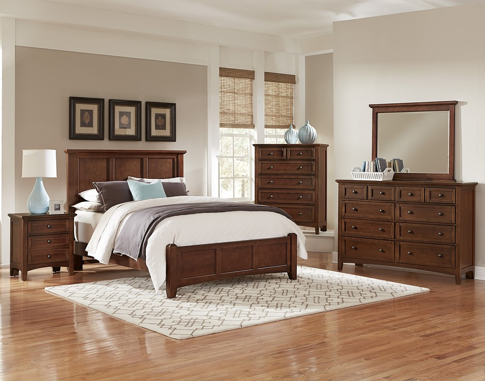 Vaughan Bassett - Mansion Bed