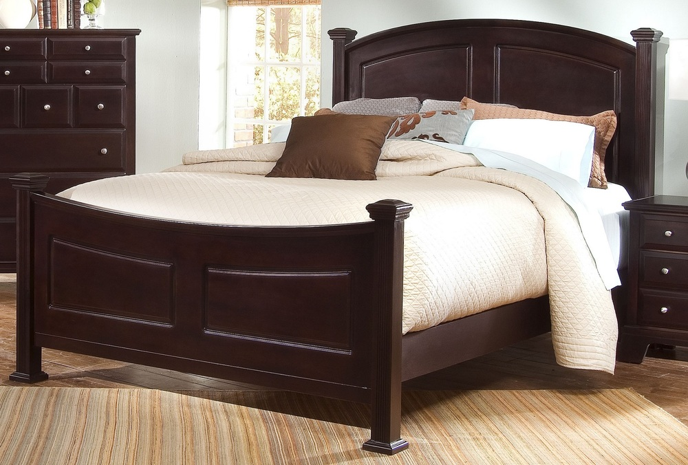 Vaughan Bassett - Panel Bed