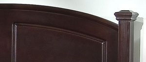 Thumbnail of Vaughan Bassett - Panel Bed With Storage Footboard
