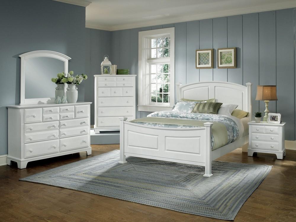 Vaughan Bassett - Panel Bed