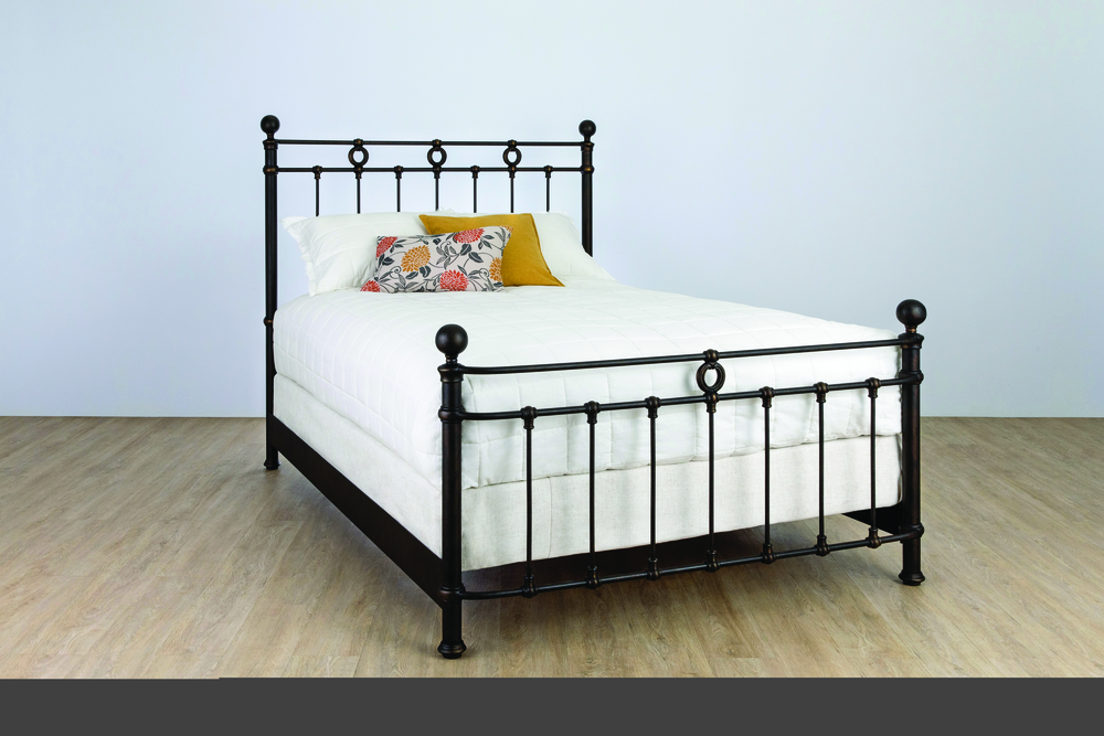 Wesley Allen - Complete Bed with Metal Profile