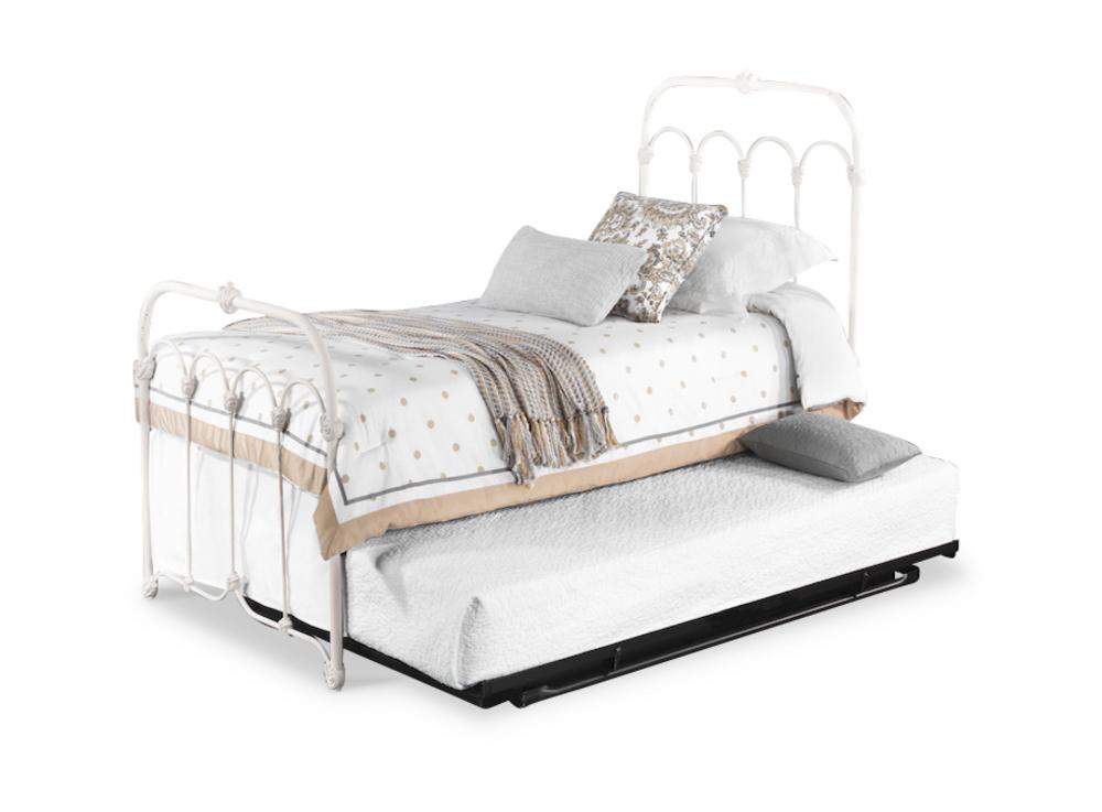 Wesley Allen - Complete Bed Slatted Frame with Trundle