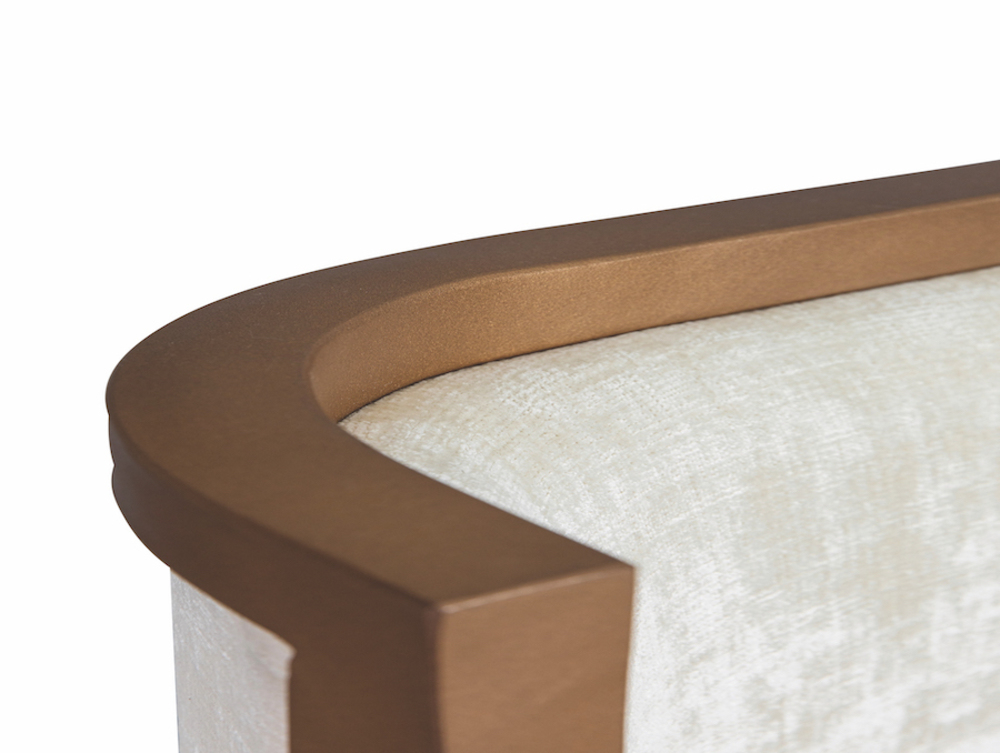 Wesley Allen - Complete Bed with Fabric Sides