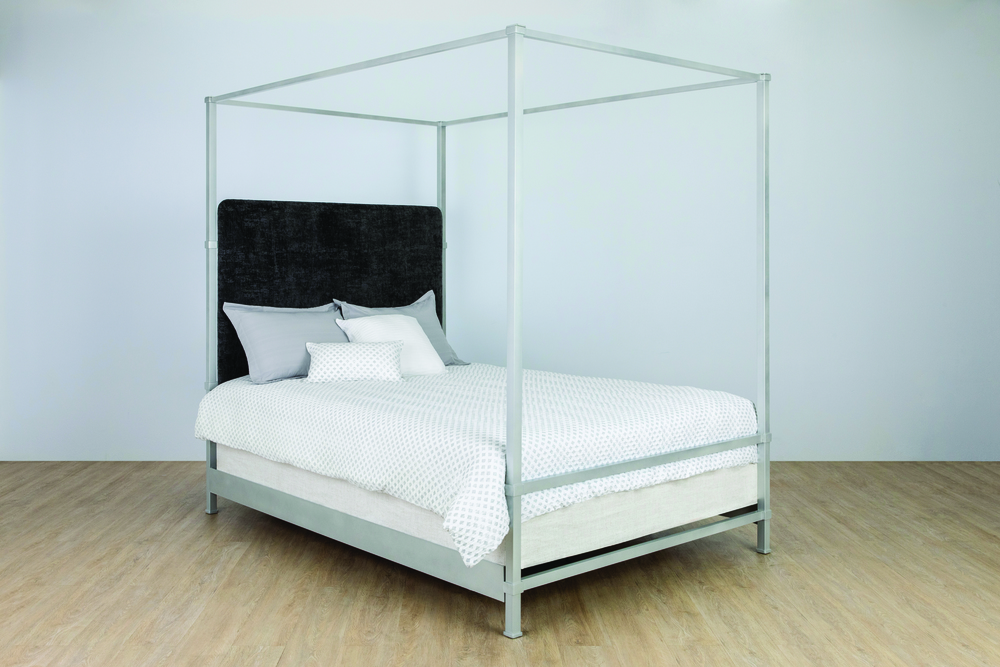 Wesley Allen - Complete Bed with Canopy And Metal Profile