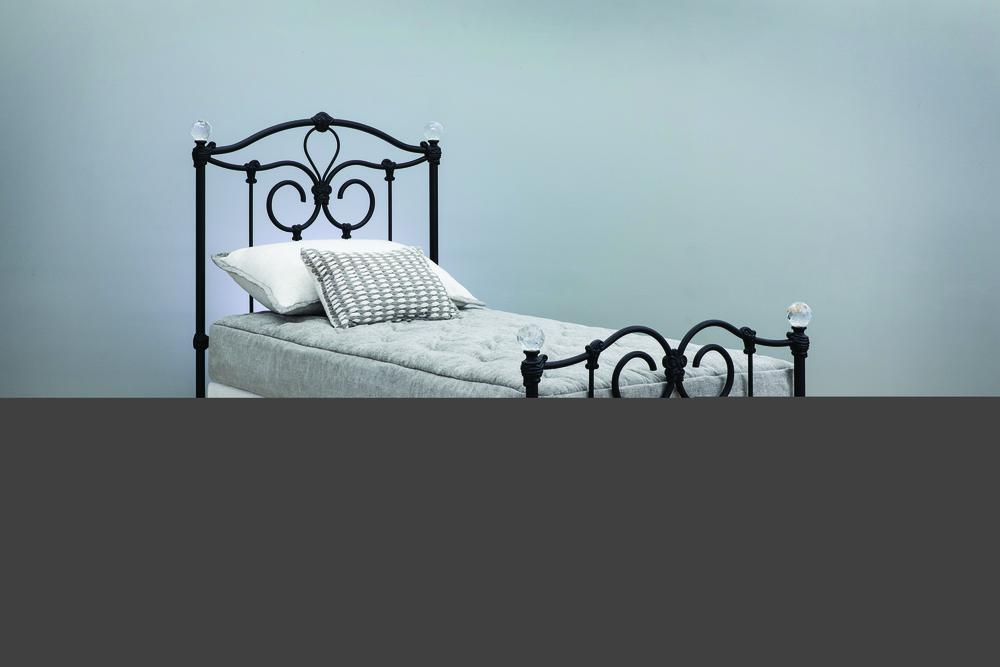 Wesley Allen - Complete Bed with Metal Profile