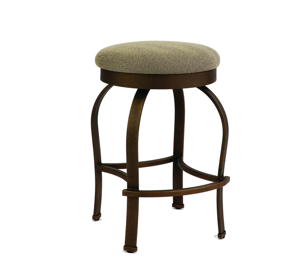 Wesley Allen - Backless Stool with Swivel