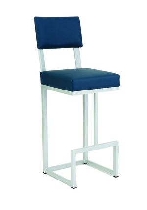 Thumbnail of Wesley Allen - Non Swivel Stool with Back
