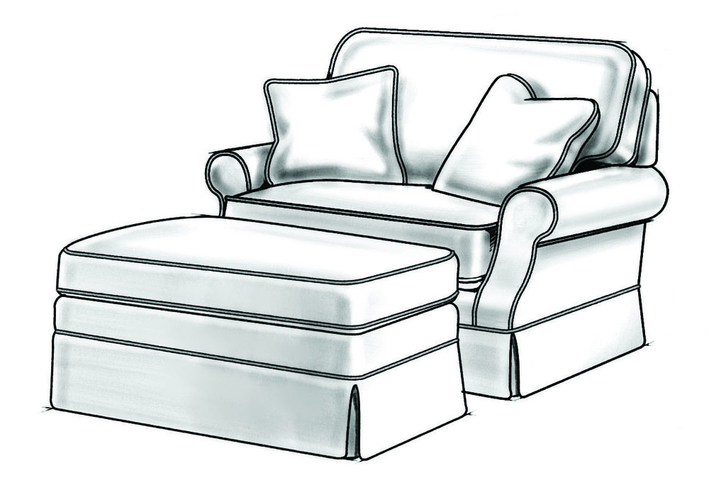 Wesley Hall - Reynolds Chair & 1/2