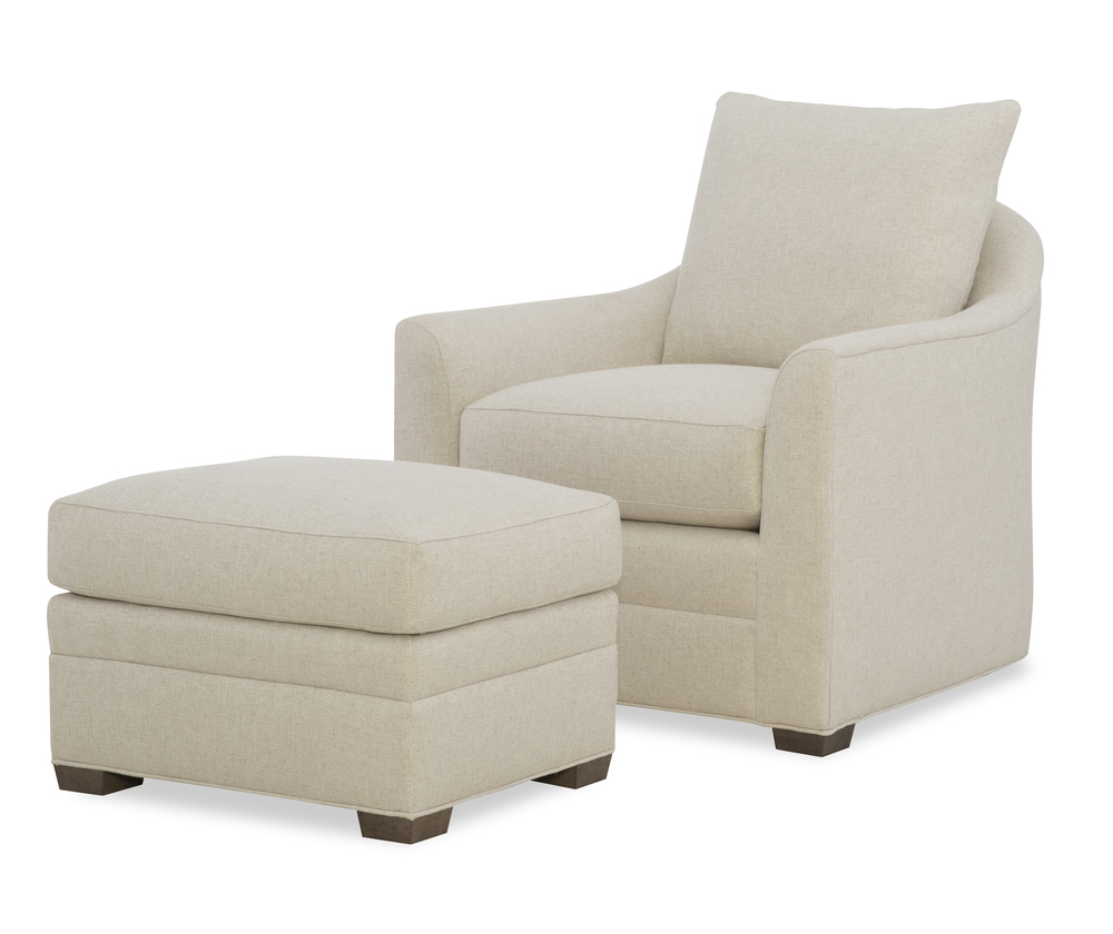 Wesley Hall - Gerringer Chair and Ottoman
