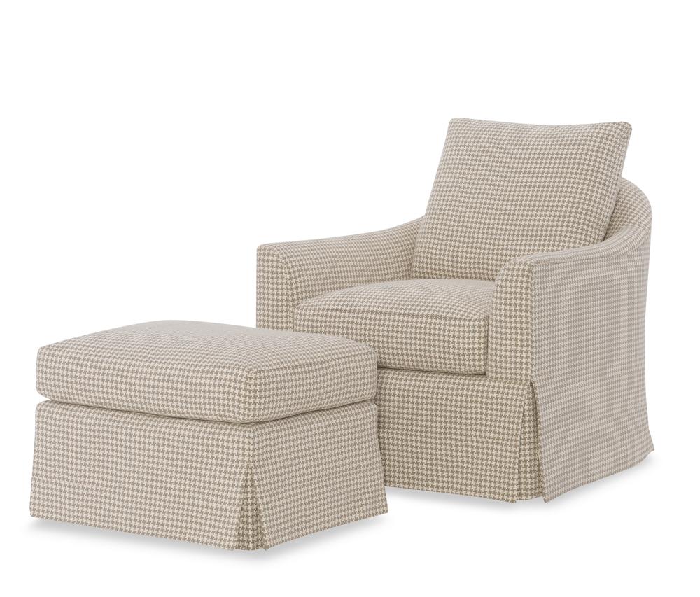 Wesley Hall - Herro Chair and Ottoman