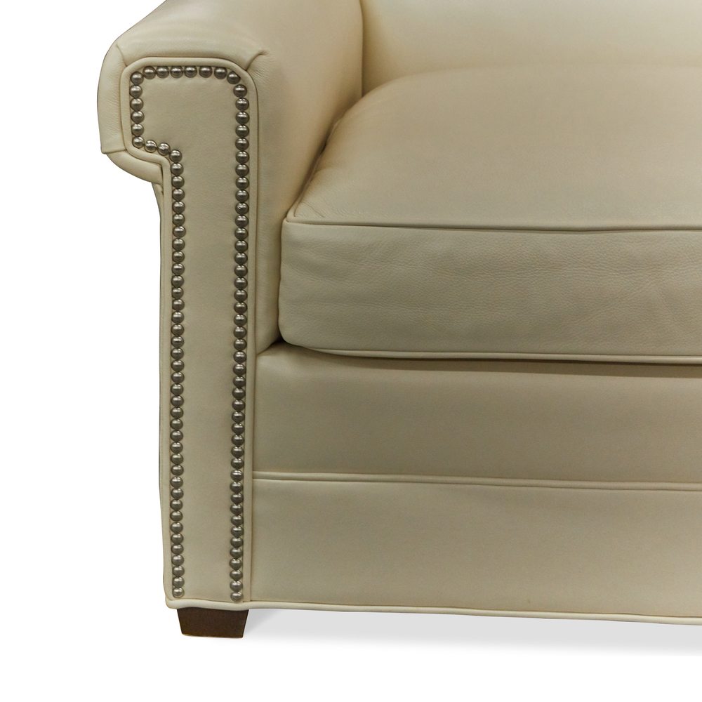 Wesley Hall - Leather Chair