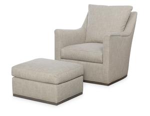 Thumbnail of Wesley Hall - Jamestown Swivel Chair and Ottoman