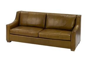 Thumbnail of Wesley Hall - Leather Barrett Sofa