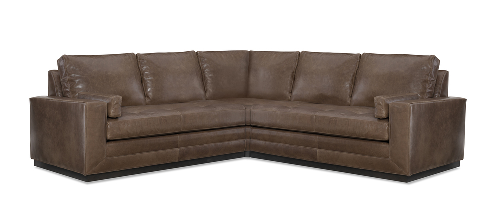 Wesley Hall - Dapper Leather Sectional