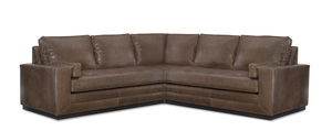 Thumbnail of Wesley Hall - Dapper Leather Sectional