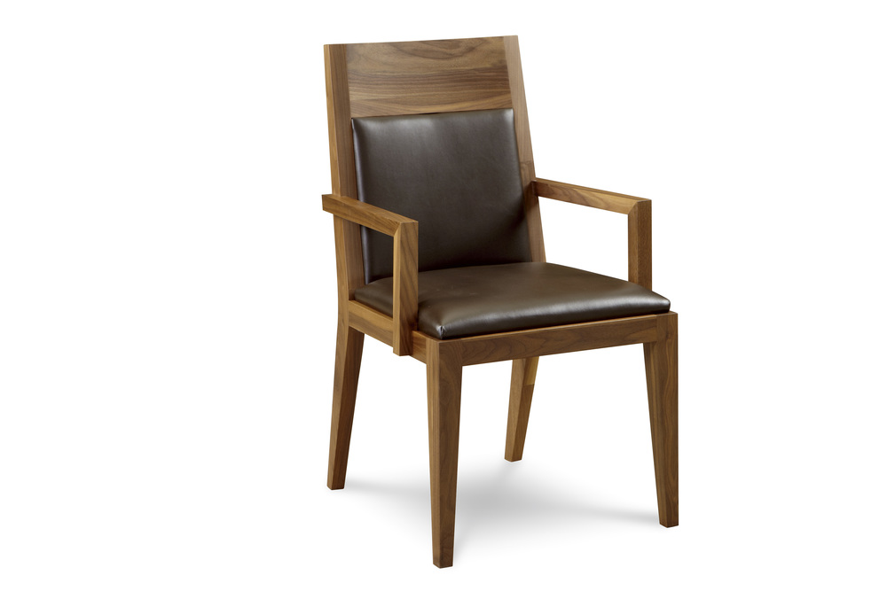 West Bros - Upholstered Arm Chair