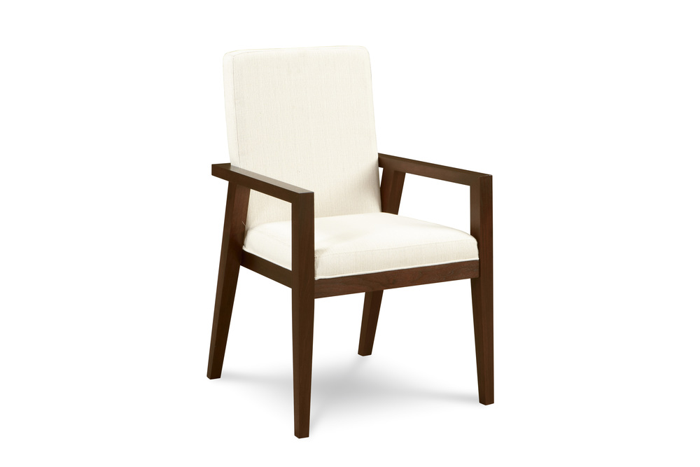 West Bros - Parson Style Arm Chair