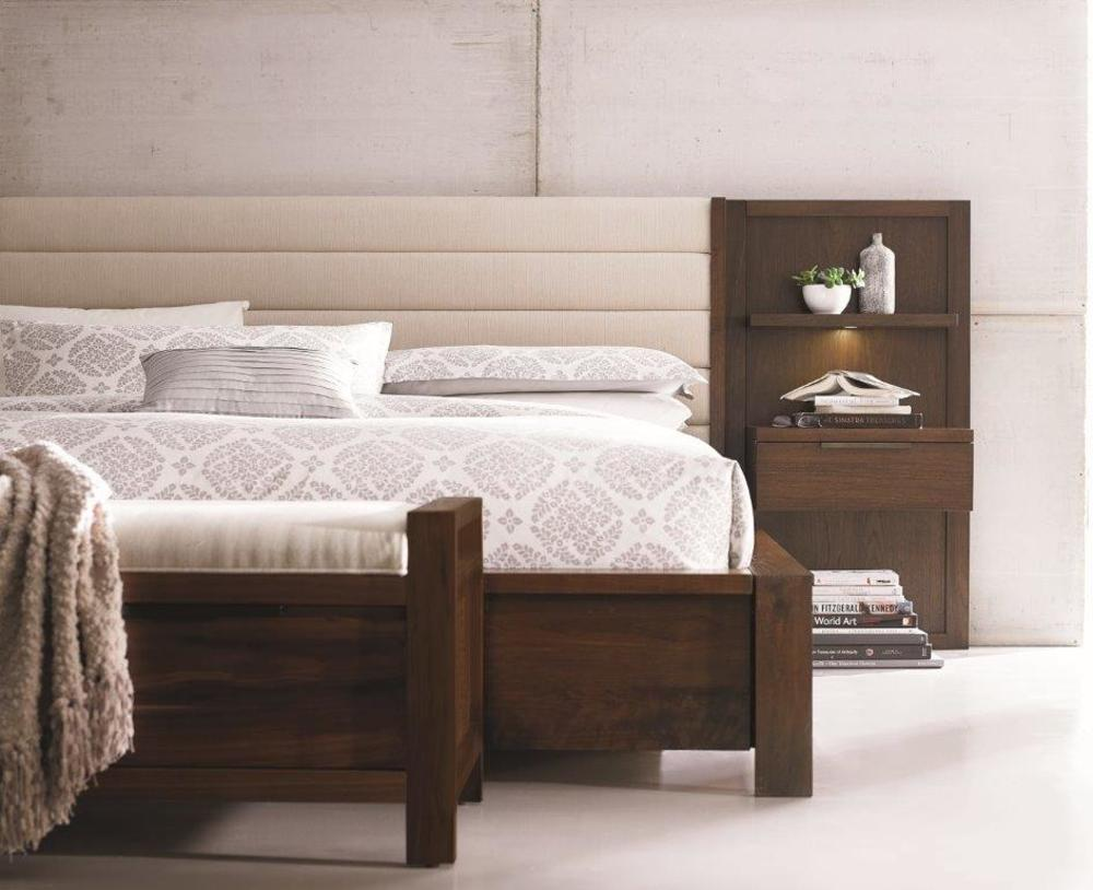 West Bros - Phase Upholstered Drawer Bed with Nightstands