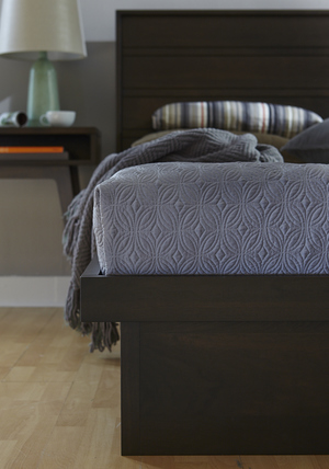 Thumbnail of West Bros - Serra Panel Bed with Drawers