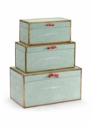 Thumbnail of Wildwood Lamp - Cousteau Boxes, Sea Mist