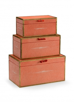 Thumbnail of Wildwood Lamp - Cousteau Boxes, Coral