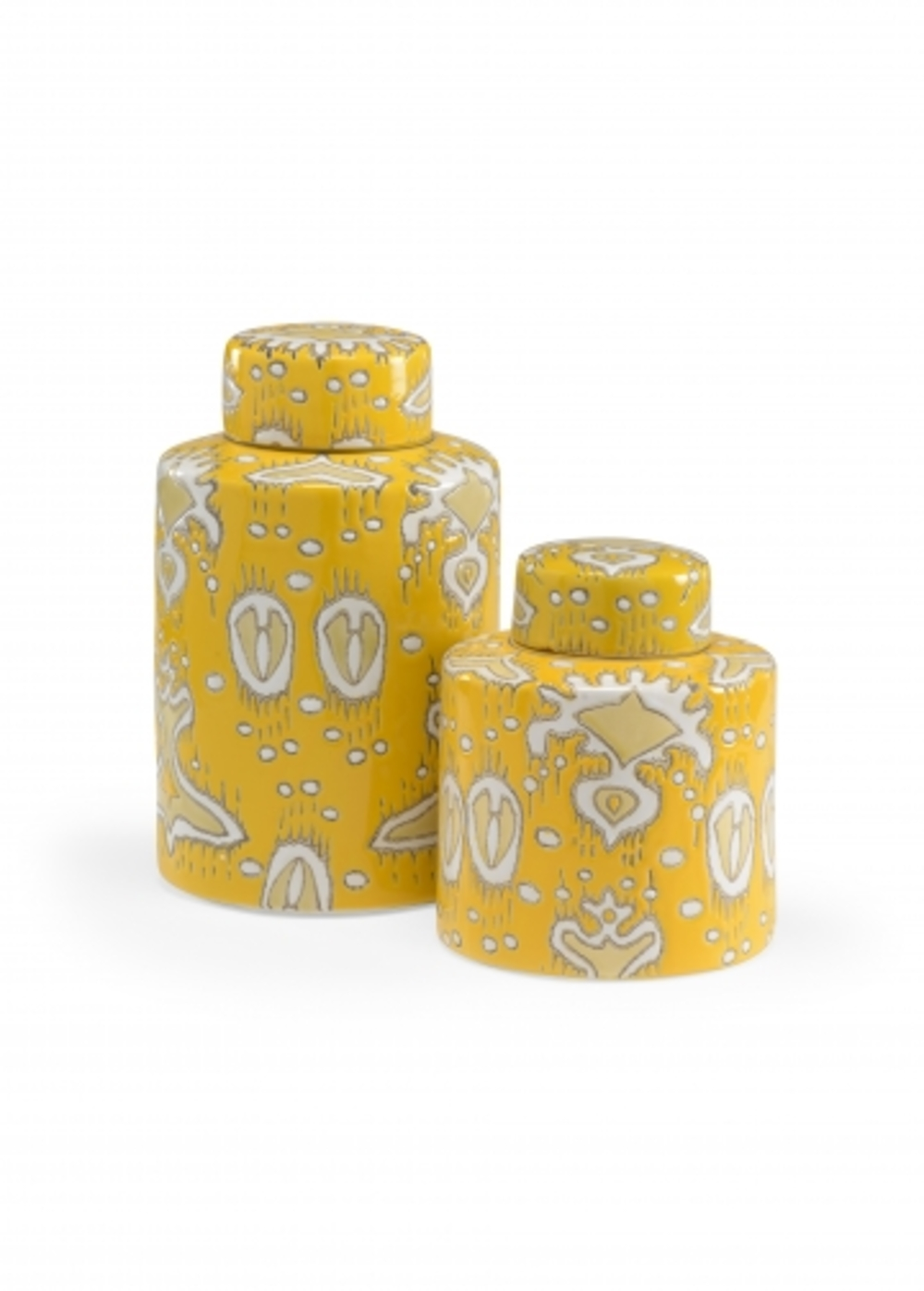 Wildwood Lamp - Yellow Cannisters, Set/2