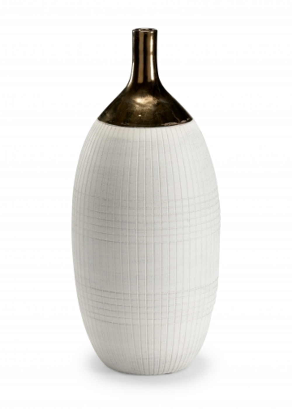 Wildwood Lamp - Blanco Potters Vase