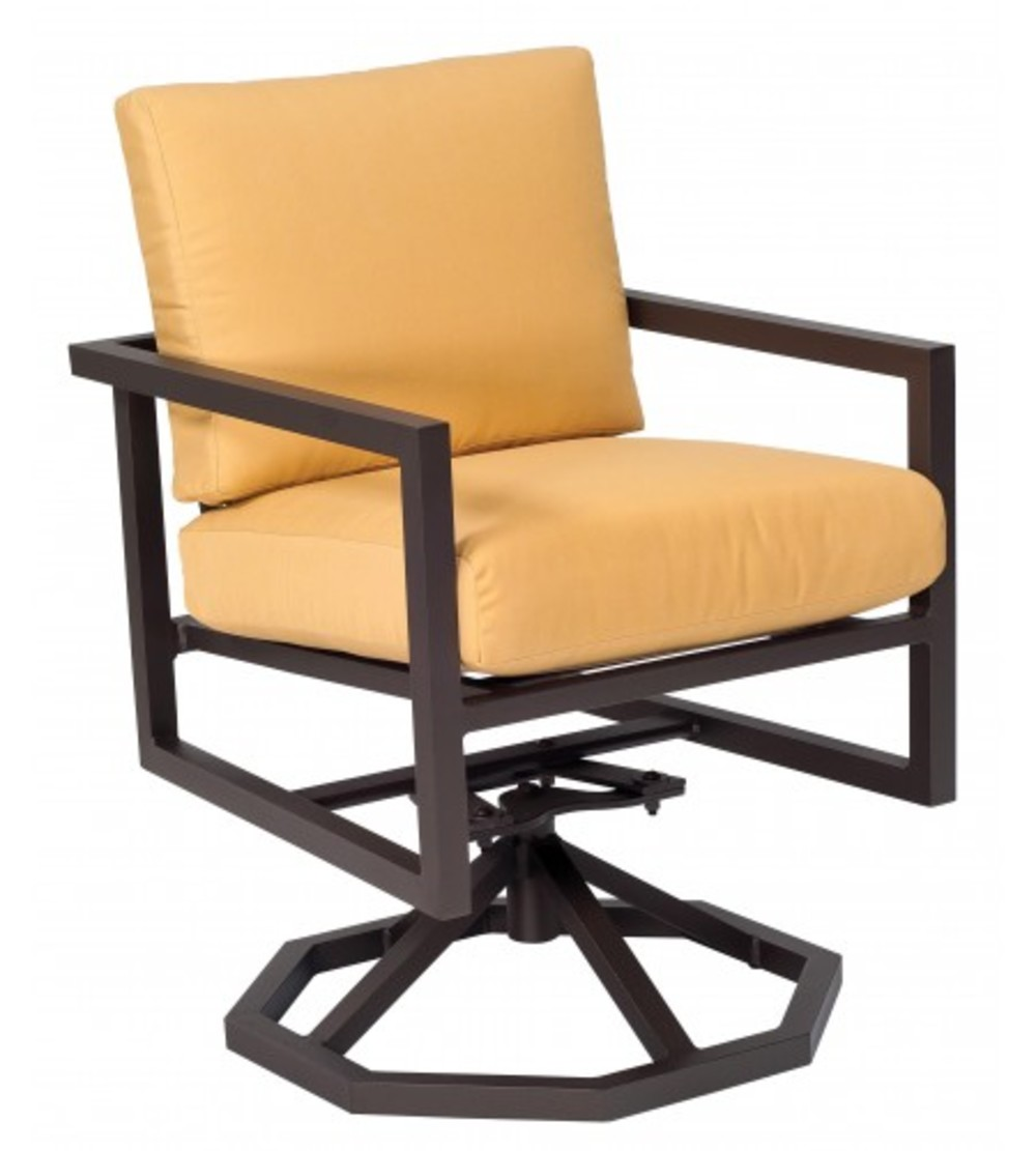 Woodard Company - Swivel Rocker Dining Arm Chair