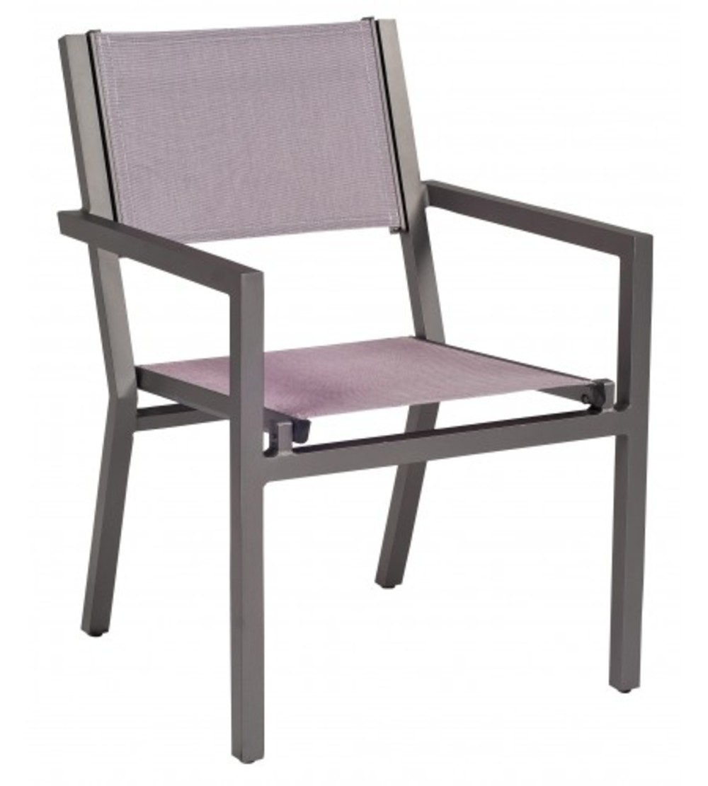 Woodard Company - Dining Arm Chair, Stackable