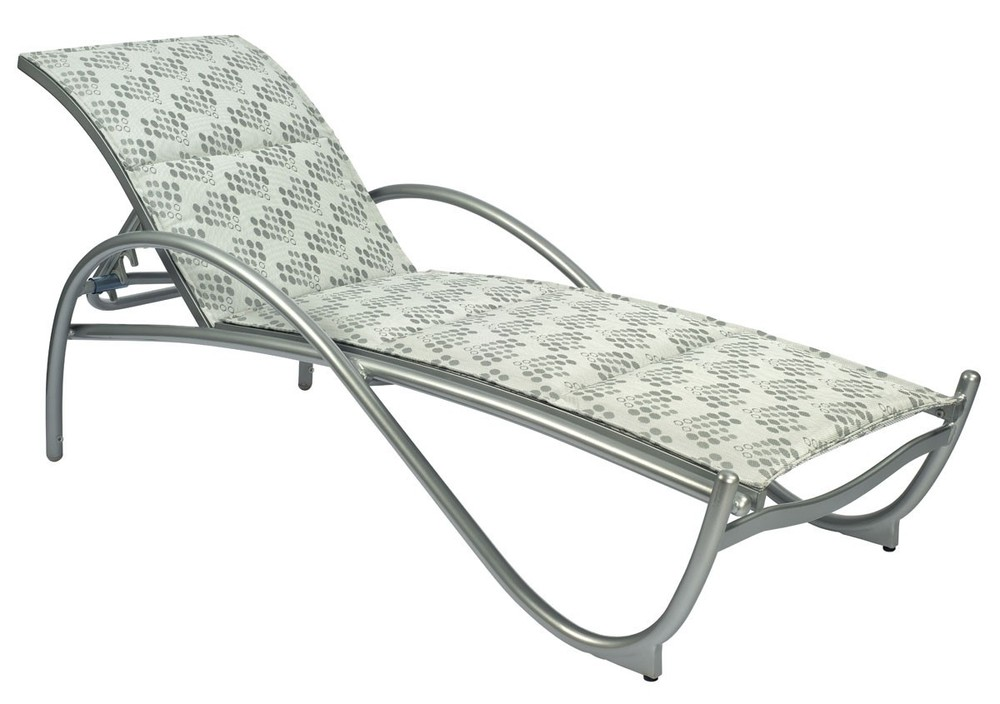 Woodard Company - Adjustable Chaise Lounge, Stackable