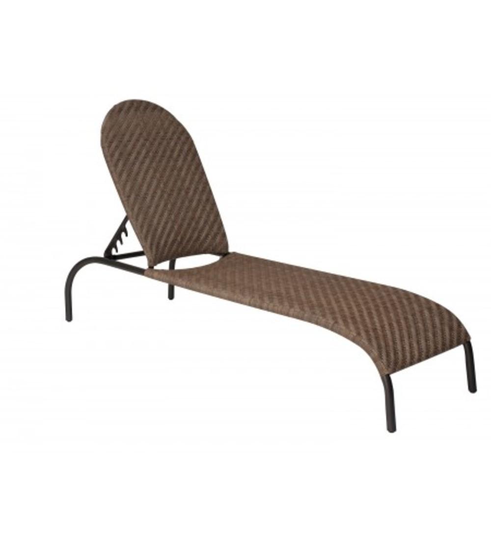 Woodard Company - Adjustable Chaise Lounge, Stackable