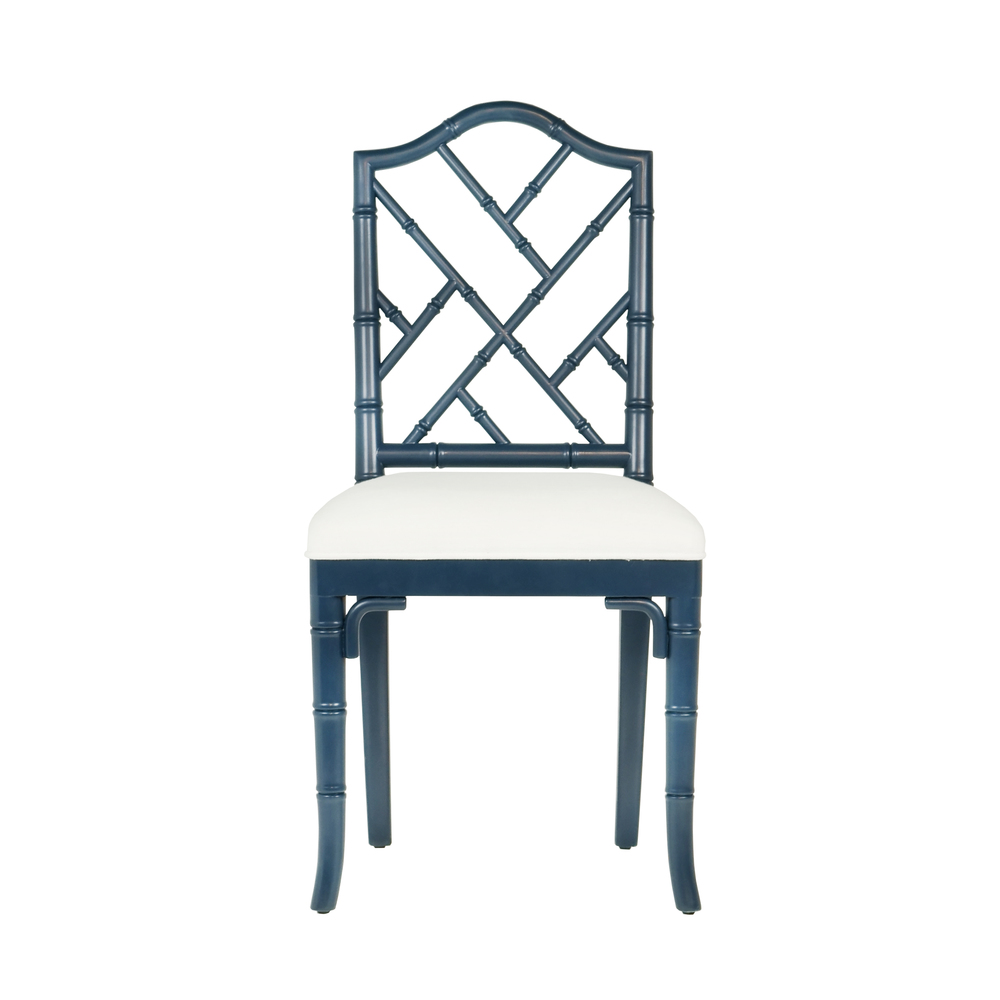 Worlds Away - Chippendale Style Bamboo Dining Chair