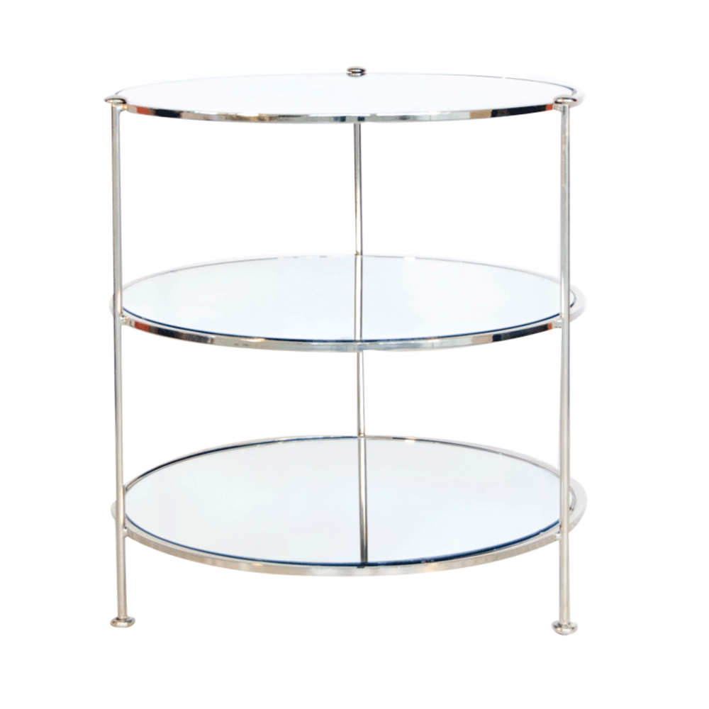 Worlds Away - Three Tier Side Table