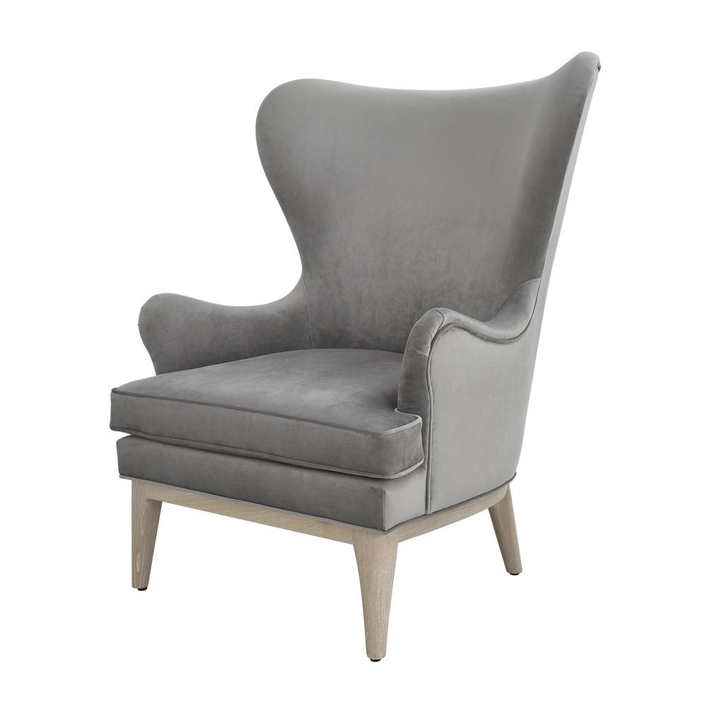 Worlds Away - Modern Wing Chair