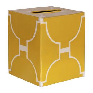 Thumbnail of Worlds Away - Kleenex Box, Yellow and Cream