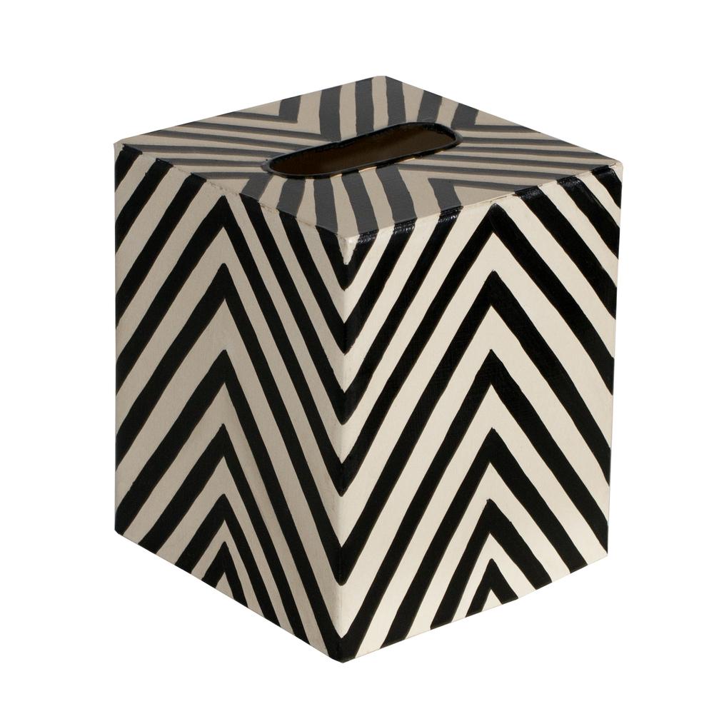 Worlds Away - Kleenex Box, Zebra